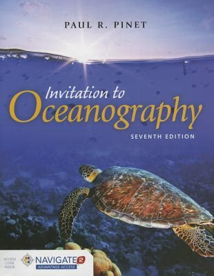marine robotics and applications engineering oceanography books invitation to oceanography book by paul r pinet 8