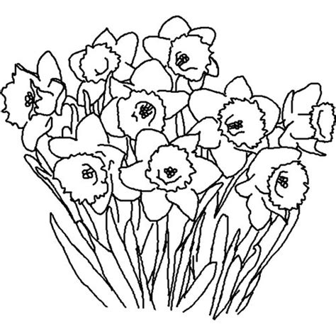 coloring pages flowers spring spring flowers coloring pages gt gt disney coloring pages