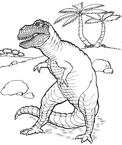 Tarbosaurus Coloring Pages