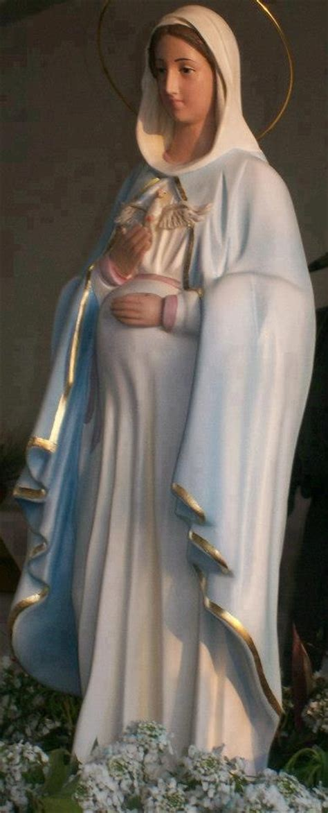 imagenes virgen maría embarazada virgen de la dulce espera mi fe pinterest