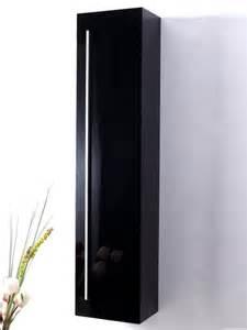placard mural en bois massif blanc ou noir laqu brillant