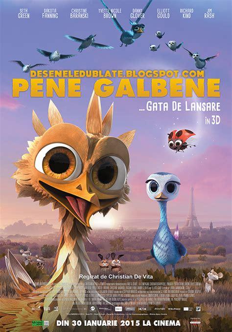 film ferdinand dublat in romana pene galbene 2014 dublat 238 n rom 226 nă desene animate