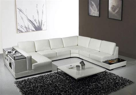 Contemporary Leather Sectionals Living Room Modern With Living Room Furniture Los Angeles