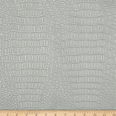 where to buy leather fabric for upholstery faux leather metallic gator silver discount designer