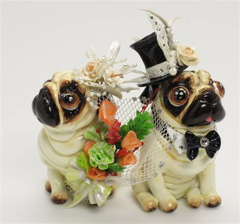 pug cake topper pug cake topper cake ideas and designs