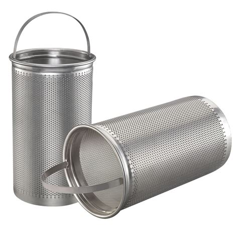 astm 316 cylinder screen strainer fulflo basket strainers 316 stainless steel mesh filters for industrial liquid filtration