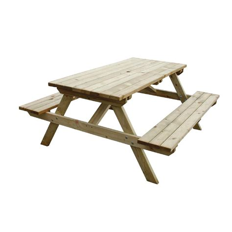 buy picnic bench new wooden garden picnic bench stock image image 91463783