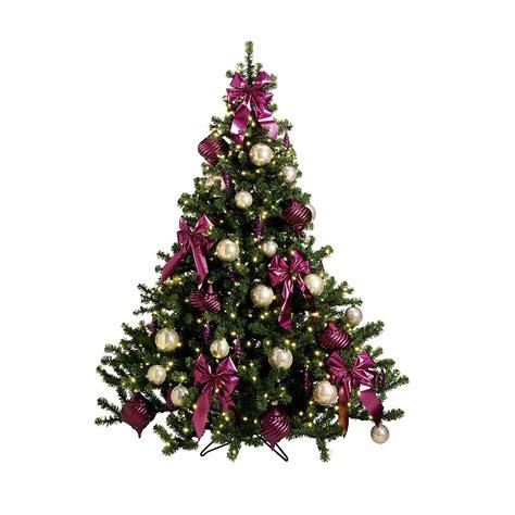 deko weihnachtsbaum deko weihnachtsbaum quot pink dekor quot dekoration bei dekowoerner