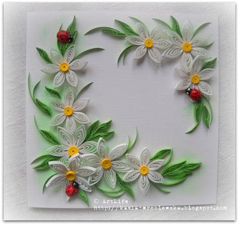 paper quilling lovely design of quilling
