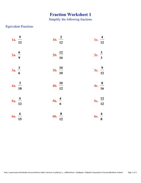 Equivalent Fractions Worksheets 4th Grade by 10 Best Images Of Fraction Worksheets With Answer Key