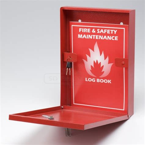fire alarm document fire safety log book document holder