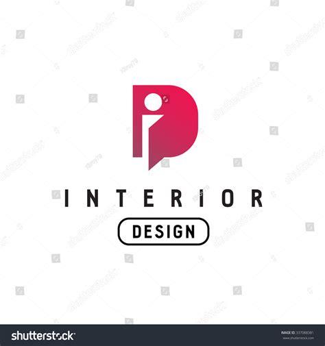 Interior Design Logo Vector by Letter D Monogram Logo Interior Design Stock Vector
