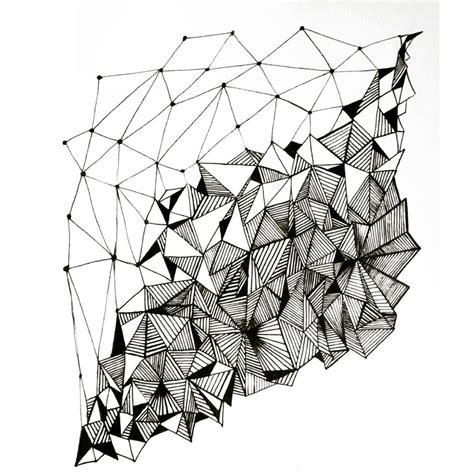 pattern in sketch geometry pattern design by annacolt on deviantart