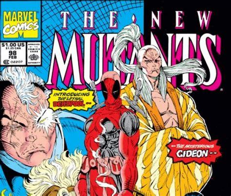 Deadpool The New Mutants Iphone Semua Hp new mutants 1983 98 comics marvel