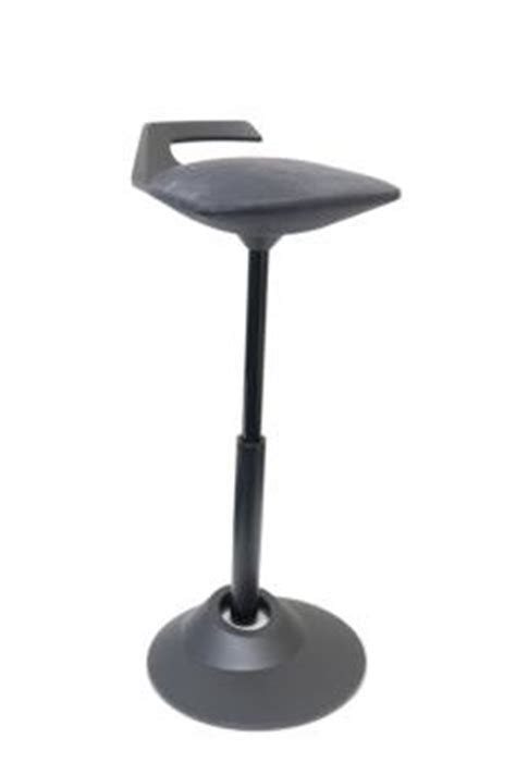Muvman Basic Sit Stand Stool by Trumpet Stool Bar Stools