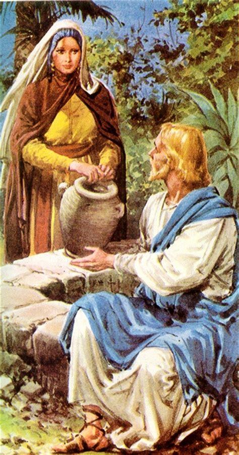 imagenes de jesus y la samaritana jesus jn 4 5 la samaritana grficos imgenes