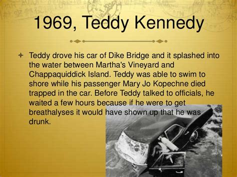 Chappaquiddick Drink History Of Anti And Driving