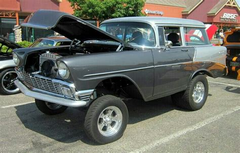 chevy shorty wagon  chevy gassers pinterest