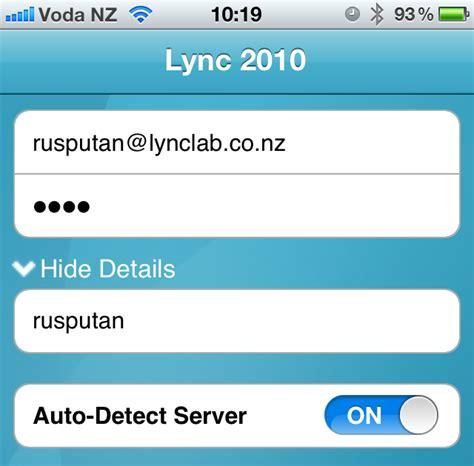 communicator mobile troubleshooting lync lync communicator mobile wont login