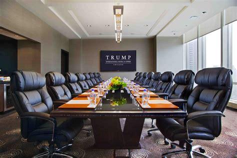 trump room trump international hotel tower chicago smart meetings