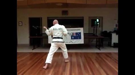 youtube taekwondo pattern 2 eureka taekwondo patterns white belt to 1st kup in order