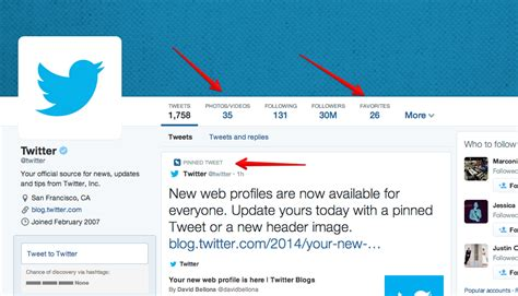 twitter account layout twitter s new profile page is now available for everyone