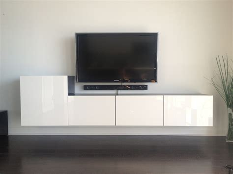 how to mount ikea besta to wall besta entertainment centers from wedeliveromaha