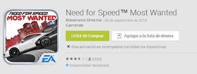 need for speed most wanted apk 1 0 50 need for speed most wanted v 1 0 47 apk mod