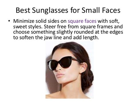 best sunglasses for small faces