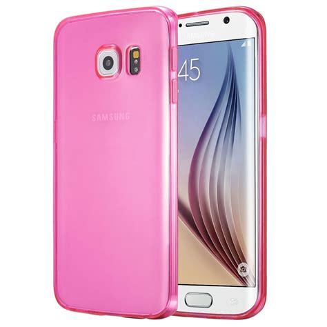 Murah Ultra Thin Soft Samsung Galaxy S6 Flat ultra thin tpu 0 5mm for samsung galaxy s6 edge plus pink jakartanotebook