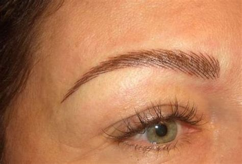 eyeliner tattoo natural permanent eyebrow tatooing for redheads would you do it