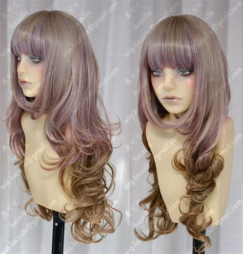 tokyo styles wigs ayamo style tokyo fashion rose mist to brown mix color