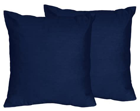 navy blue throw pillows set of 2 navy blue decorative accent throw pillow sweet