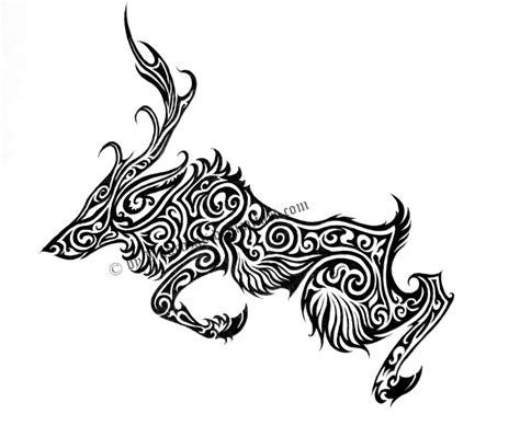 tribal pattern deer tribal deer tattoos www imgkid com the image kid has it