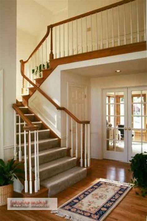 contoh model desain tangga rumah minimalis interior rumah minimalis