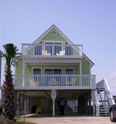 Topsail Beach House Rental The Dolphin View Only A Few Topsail Rental Houses