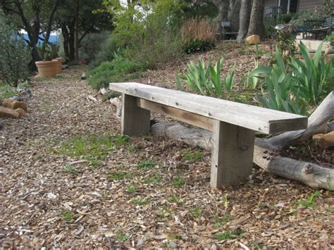 build a bench seat for garden how to build simple garden benches for free flea market