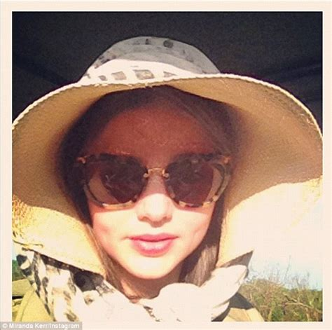 A Marvelous Take On The Safari Look With Out Of Africa by Miranda Kerr Still Manages To Look Stylish As She Ditches