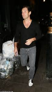 Jude Laws Denim Crimes by Jude Is Dressed As He Hits The Town In Jumper And