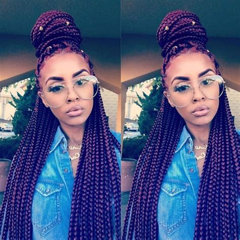 different styles for box braids 7 different box braids hairstyles for black women not you