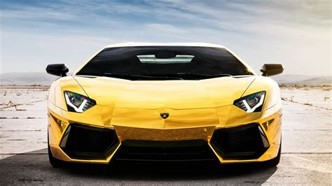 yellow lamborghini front hd car images in front view wallpaper high resolution of