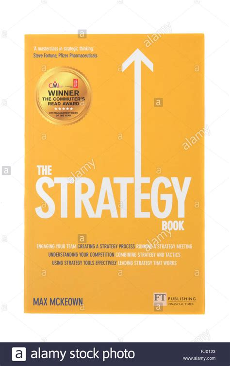 The Book by The Book The Strategy Book By Max Mckeown Stock Photo