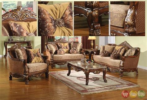 traditional living room sets furniture la petit traditional formal sofa set