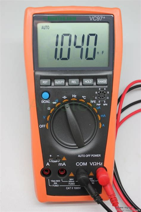 diode symbol in multimeter aidetek vc97 multimeter ac dc dmm v c a temp diode freq tester vs fluke uk ship ebay