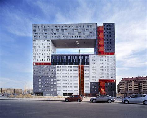 Apartment Building Design by Archshowcase Mirador Building In Madrid Spain By Mvrdv