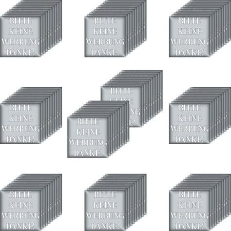 Aufkleber Auf Briefkasten Entfernen by 100 Aufkleber Sticker Briefkasten Bitte Keine Werbung