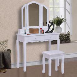 Furniture Of America Grand Amelia Vanity Set With Stool by Makeup Vanity Table Furniture