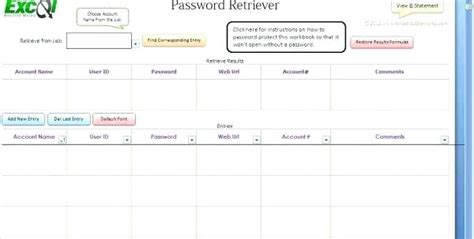 Password Template Log Policy Pdf – TheOpulence Free Excel Worksheet Password Cracker