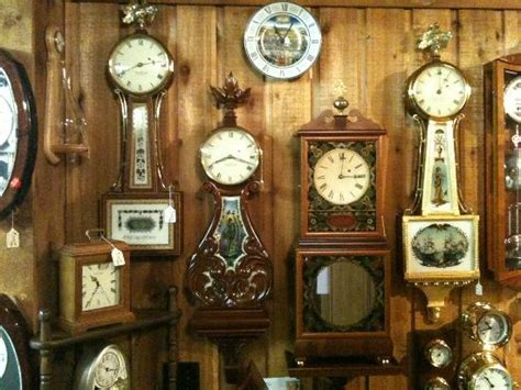clock shop foster cos banjo clocks picture of ch s clock shop
