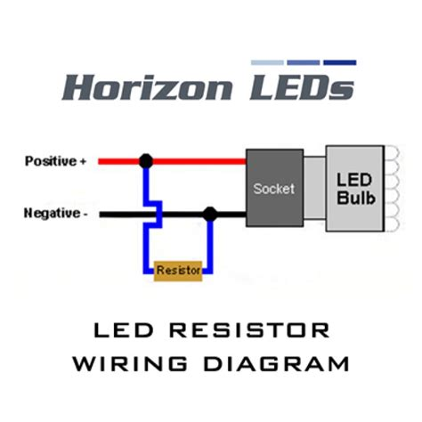 led resistor wiring diagram indicator led civinfo